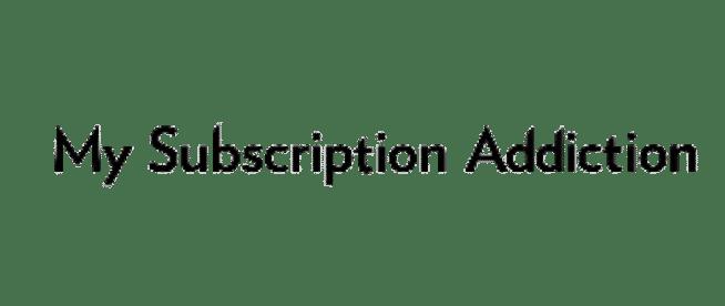 My Subscription Addiction Logo